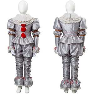 Costume Clown Joker Cosplay Carnival Halloween Children Sets for 2 It-It:Chapter King's