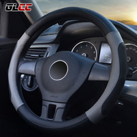 Massage Car Steering Wheel Cover Microfiber Leather Universal Steering Wheel Covers 38 Cm 15 Auto For