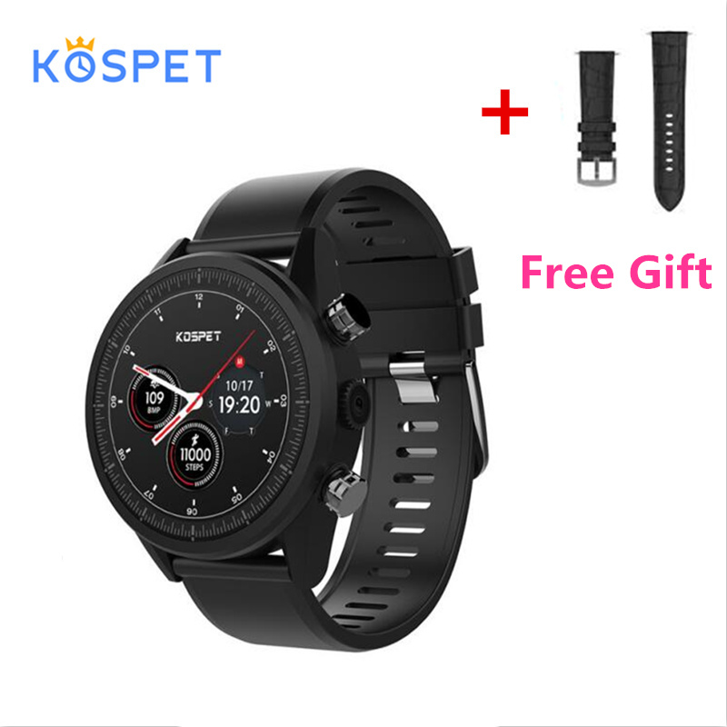 KOSPET Hope 4G Bluetooth Android 7.1.1 1.39 Touch Screen 3GB+32GB IP67 Waterproof MT6739 Camera GPS Business Smart Watch PhoneKOSPET Hope 4G Bluetooth Android 7.1.1 1.39 Touch Screen 3GB+32GB IP67 Waterproof MT6739 Camera GPS Business Smart Watch Phone