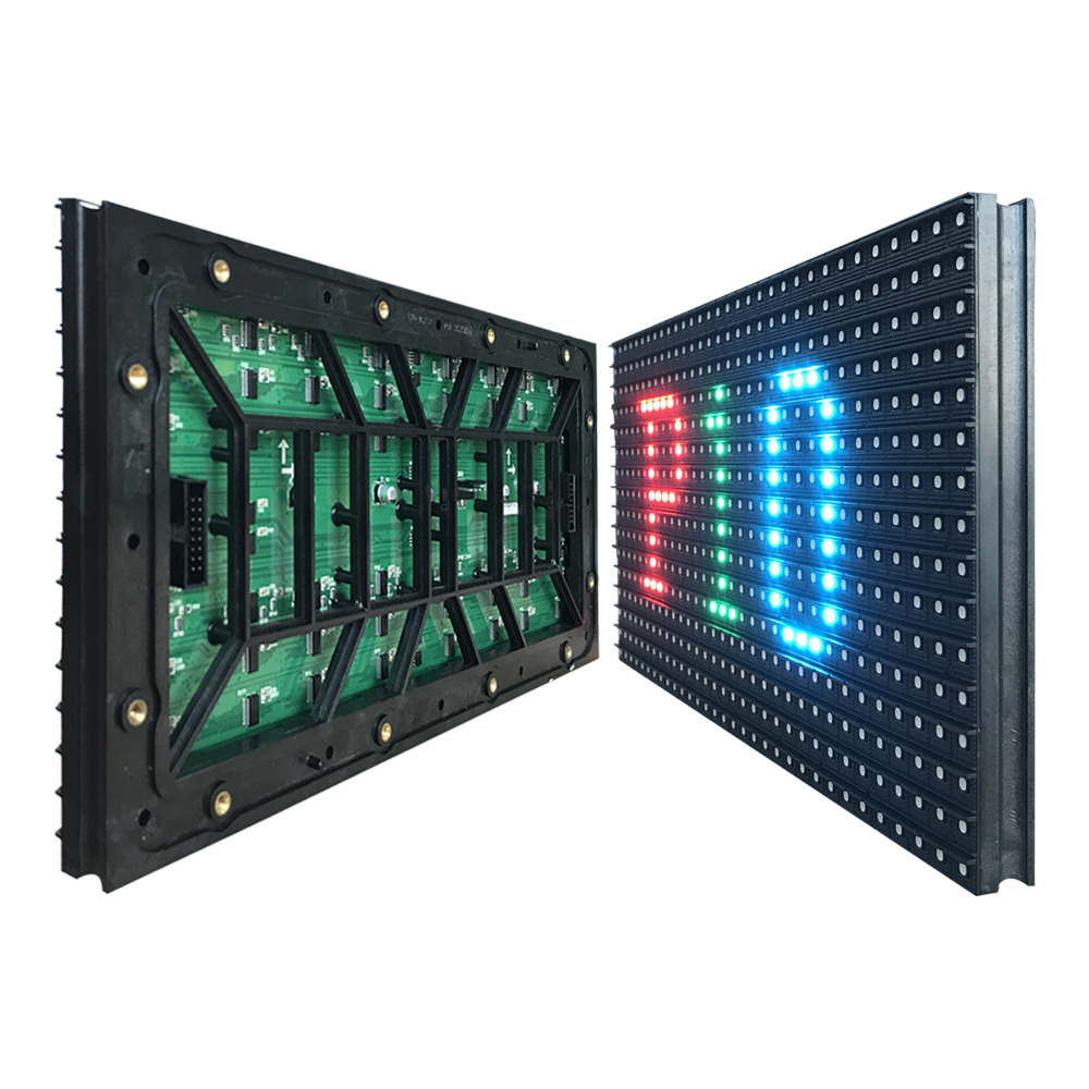 P10 SMD 3IN1 RGB full color led display module,outdoor LED panel,320*160mm, text, pictures, video show