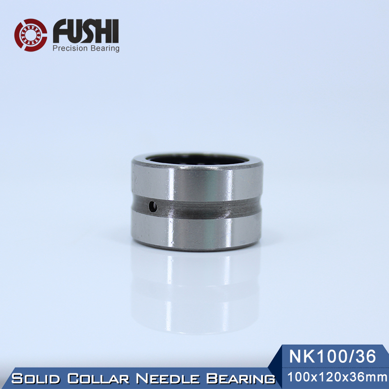 NK100/36 Bearing 100*120*36 mm ( 1 PC ) Solid Collar Needle Roller Bearings Without Inner Ring NK100/36 NK10036 BearingNK100/36 Bearing 100*120*36 mm ( 1 PC ) Solid Collar Needle Roller Bearings Without Inner Ring NK100/36 NK10036 Bearing