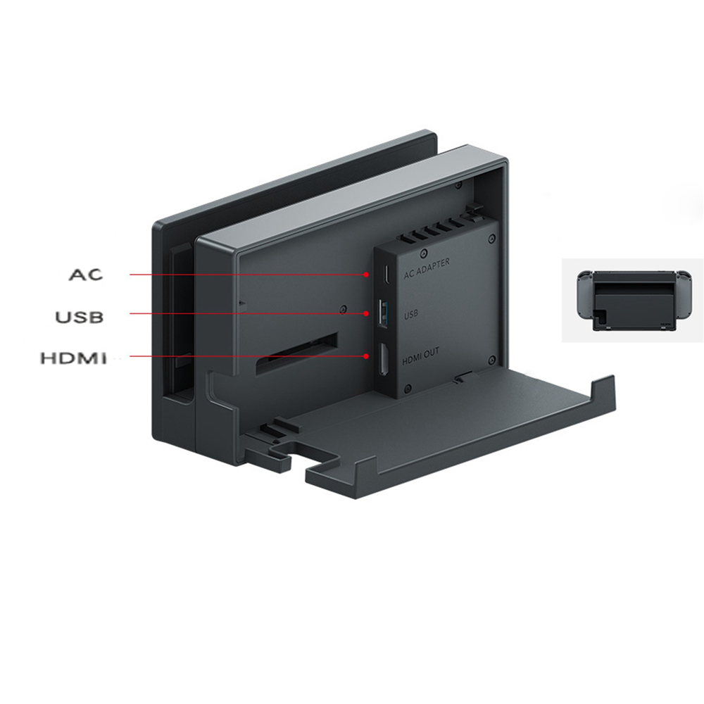 Original Charging HDMI Dock Station for Nintendo Switch Console Replacement Charging HDMI Dock for Nintendo Switch цена 2017