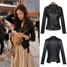 2016 New Winter Genuine Leather Jackets for women Long Sleeve Fashion Slim Woman Coat Jackets Suit OL ladies blaser Top Black