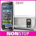 Оригинальный Nokia C6-01 C6 01 разблокирована Смарт мобильный телефон емкостный сенсорный экран 8MP GPS WIFI телефон