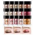 Bbia pigmento de 15 colores 1.8g joya brillo sombra de ojos paleta de cosméticos de maquillaje de ojos herramienta de maquillaje shimmer eyeshadow palette