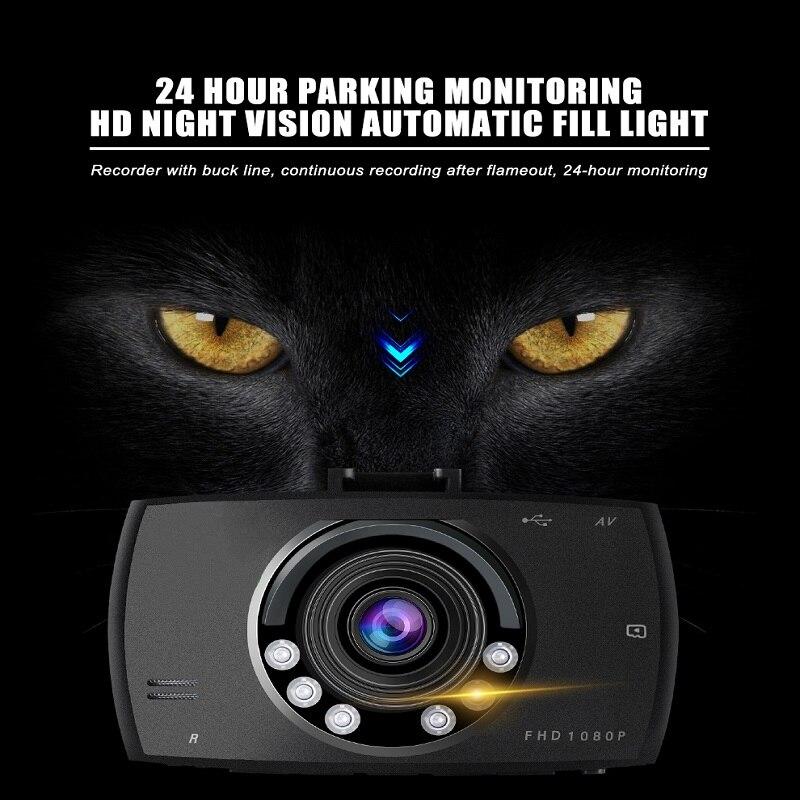 HD 720P 2.4/'/' Vehicle Smart Auto Camera Recorder Car DVR Dash Cam