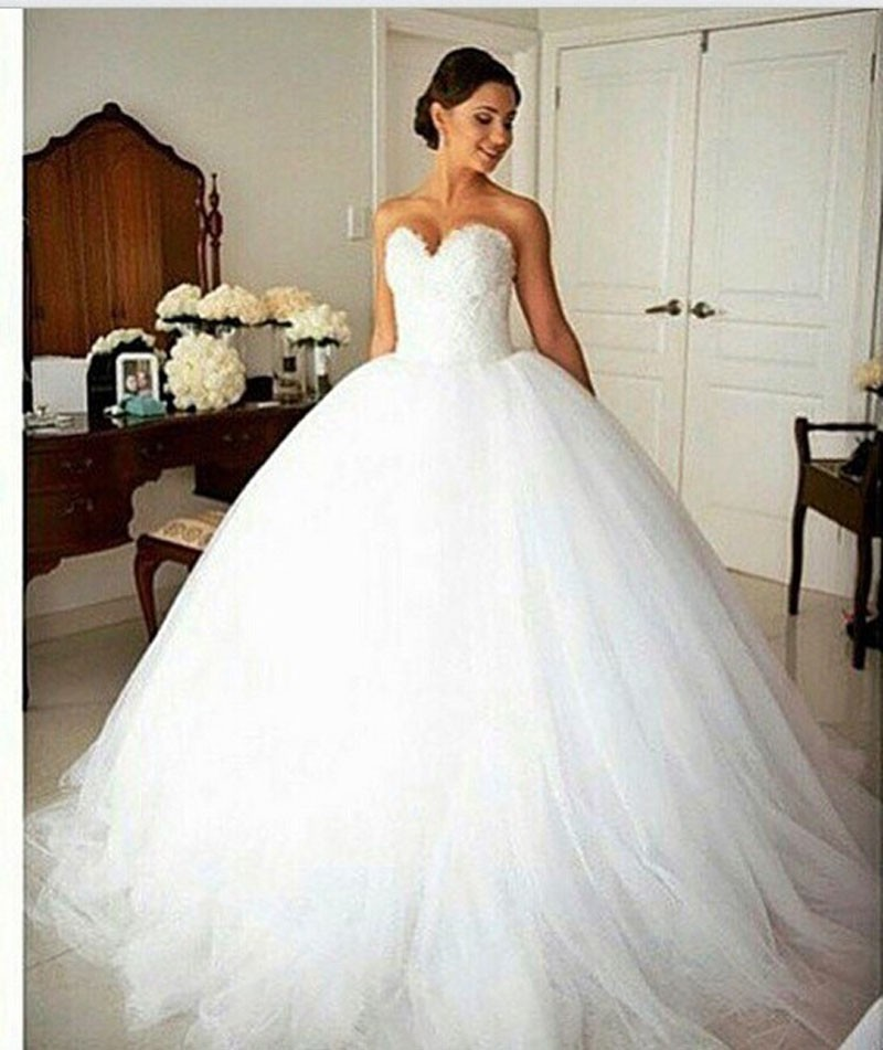 ... Neckline Beaded Lace Wedding Gown Tulle Ruffles Brand Backless Plus  Size Wedding Dress. 0815 0815-1. If you have problems with sizes d7368651435a