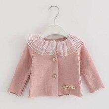 IDEA FISH/ г. Осенняя От 0 до 2 лет блузка для маленьких девочек Рождественская Детская одежда рубашка с длинными рукавами для девочек детские топы розового и красного цвета