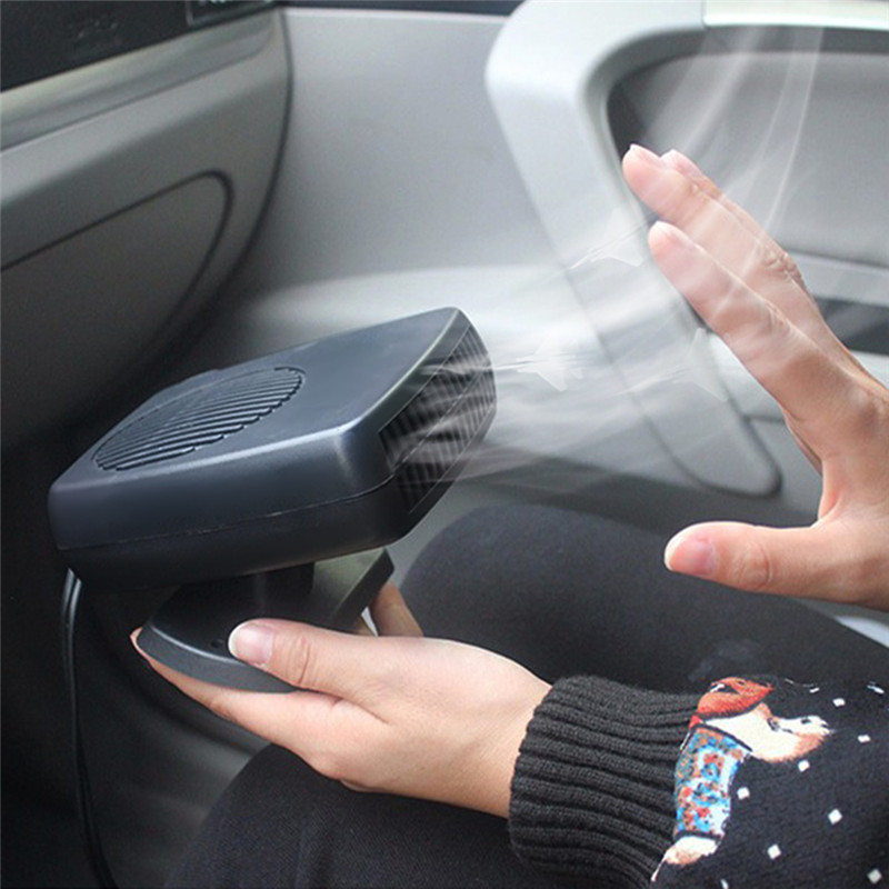 Liplasting Car Auto Electric Heater Portable Heating Cooling Warm Fan Defroster Demister 12v 24v 150w Styling