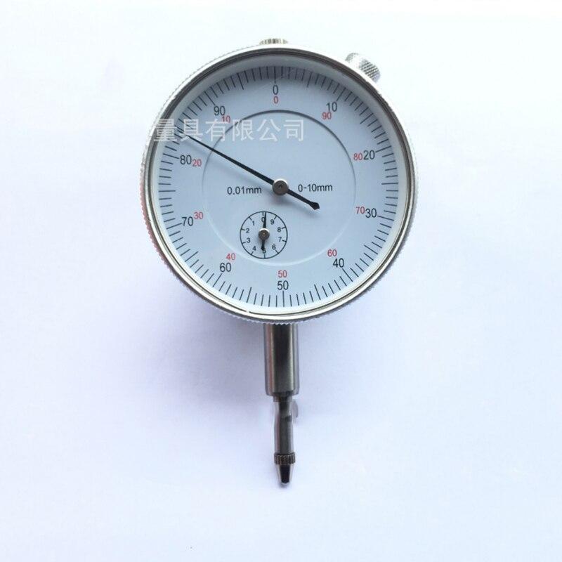Precision Tool 0.01mm Dial Test Indicator Dial Test Indicator Gauge Round Dial Indicator Micrometre Dial Gauge Micrometer Measur