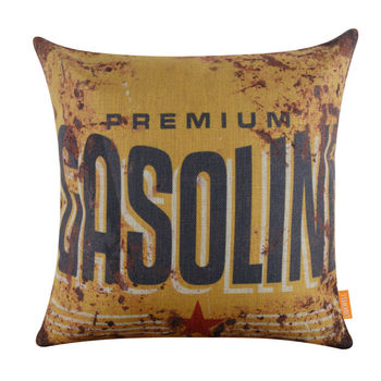 Gasoline Cushion Cover