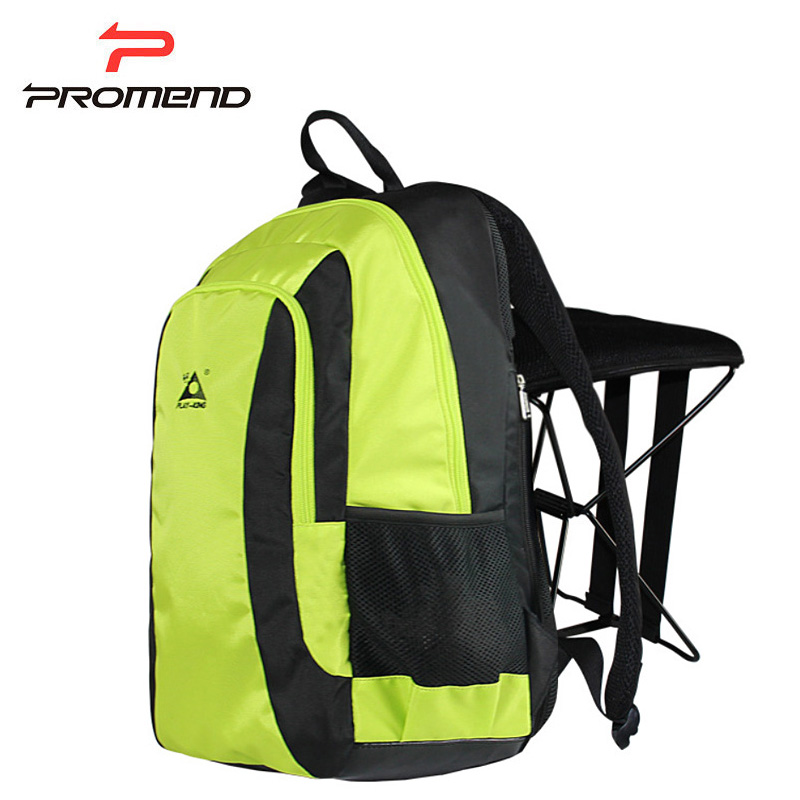 Waterproof Cycling Bags Foldable Chair Fishing Backpack Outdoor Camping Hiking Travel Bag Men Hunting Backpack Women Sports Bag free knight hiking backpack 50l waterproof sports bag multifunctional outdoor bags camping hunting travel treck mochila backpack