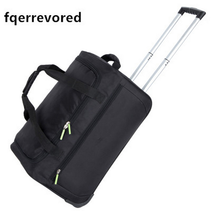 fqerrevored  New Waterproof Luggage Bag Thick  Rolling Suitcase Trolley Luggage Women and Men Travel Bags Suitcase With Wheels