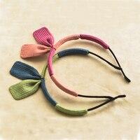 3 Pieces Lot Baby Hair Bands Headband Handmade Knit Dual Angle Girls Children Hair Accessories