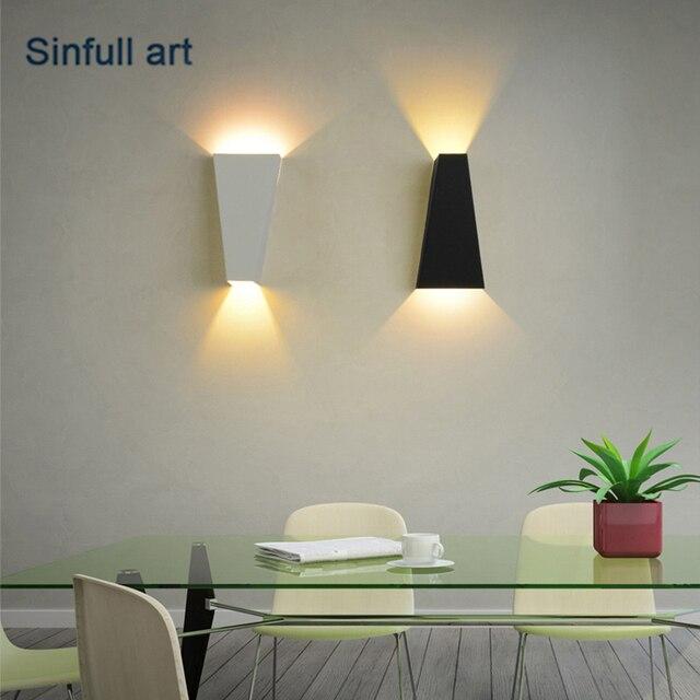 Moderne creative led wall light up down lumi¨re mur lampe salon