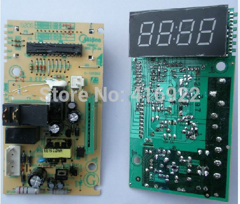 Free shipping 100% tested for Midea Microwave Oven computer board EM720FF1-NR/EM720FF2-NA1/EM823LE3-NS/ mainboard on sale free shipping 100% tested for washing machine wfs1075cw cs computer board motherboard c1s1 w10442281 on sale