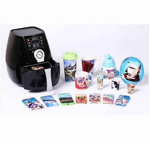 Free shipping sublimation machine 3D Mug Sublimation Press Machine ST 1520 PC Mug Multicolor 3D Mini