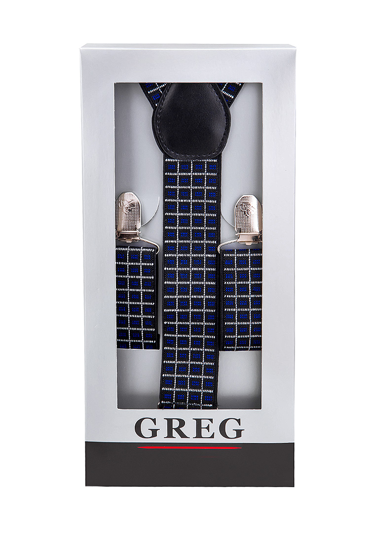 [Available from 10.11] Suspenders mens box GREG G-1-35 Blue blue binary led light black aviation speedometer dot matrix mens watch gift box