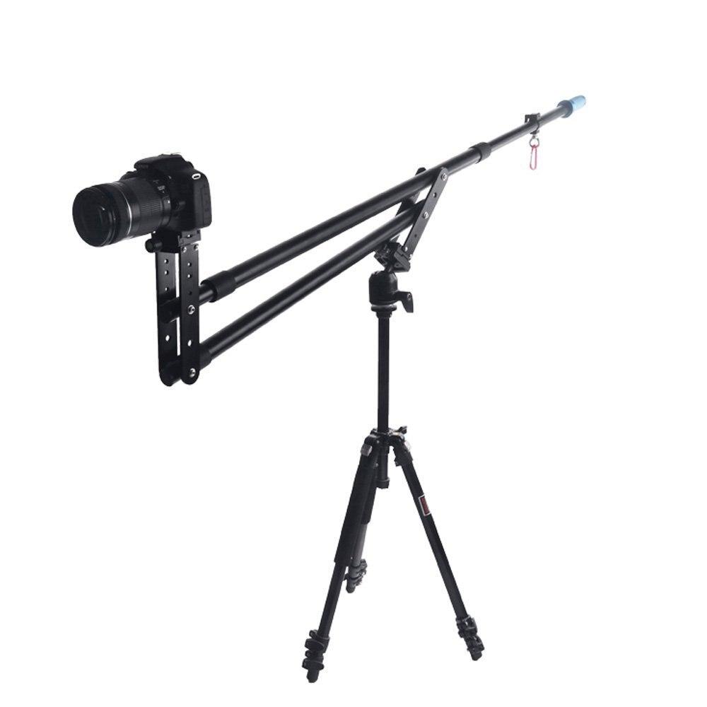 Portable DSLR Mini Jib Vidéo Caméra DV Grue Focs Rocker Bras Extension jusqu'à 6 kg avec Sac