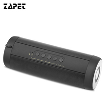 ZAPET Portable Original T2 wireless Bluetooth font b Speaker b font Amplifier Stereo Outdoor waterproof 1800MA