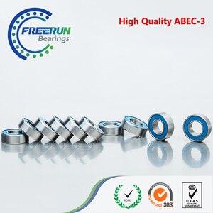 686-2RS 10PCS 6x13x5 Blue rubber bearing 6x13x5mm 686 2RS ABEC3 Model bearing(China)