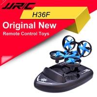 JJRC-barco Drone H36F Original, vehículo Drone 3 en 1, 2,4G, multifunción, Control remoto, juguetes con modo sin cabeza, volteretas 3D y luz fría
