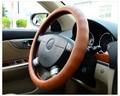 Braided Genuine Leather Steering Wheel Cover  Golf 6 Vw Polo Tiguan Lavida Passat B5 Bora Santana Sagitar Bora