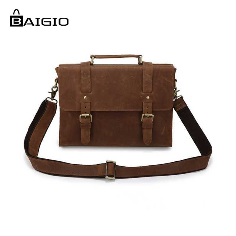 "Aliexpress.com : Buy Baigio Mens 13"" Laptop Briefcase Bag ..."