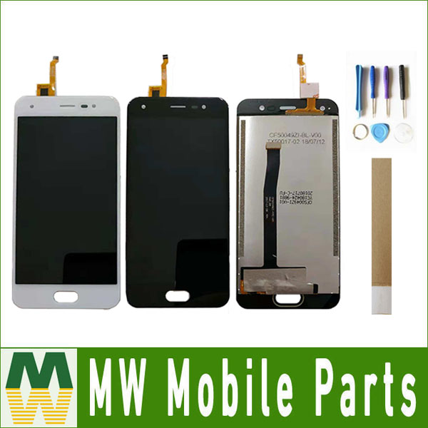For BQ Mobile BQ 5012L Rich BQ5012L BQ 5012L LCD Display+Touch Screen Digitizer Assembly Replacement 2 Color With Tools&Tape