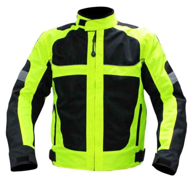 Chaqueta de protección de motocicleta transpirable de malla de verano chaqueta campestre cruzada chaqueta de ciclismo para hombres pantalones de motocicleta