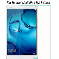 100 High Quality Clear Explosion Proof Screen Protector For Huawei MediaPad M3 9HD Tempered Glass For