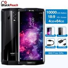 Получить скидку HOMTOM HT70 6,0 «HD + 18:9 Экран мобильного телефона MTK6750T Octa Core 4 г Оперативная память 64 г Встроенная память 10000 мАч Батарея 16MP + 5MP двойной камеры смартфона