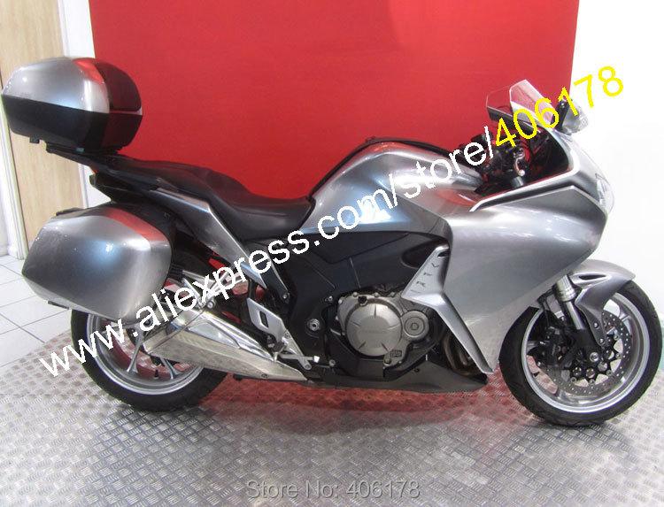 Горячие продаж,спортивный мотоцикл кузова Обтекатели для Honda VFR1200 2010-2013 ВФР 1200 Мото Обтекатели комплект для продажи (литье под давлением)