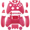 Matte Pink Replacement Custom Controller Shell Mod Kit + Buttons Chrome for Xbox One
