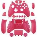 Matte rosa kit mod shell + botões de substituição do controlador personalizado chrome para xbox one