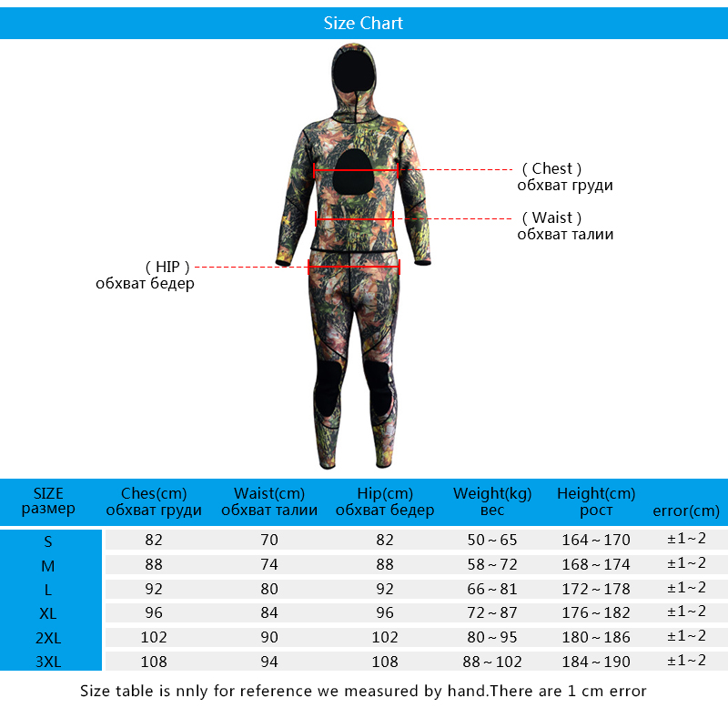 WS01 spearfishing wetsuit