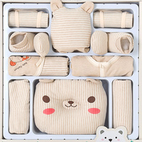 13 Pcs/Set Cotton Cartoon Newborn Baby Girl Clothes Autumn Winter Baby Boy Clothing Set Print Toddler Baby Clothes Outfit Gift