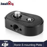 Smallrig kamera płyta Rig heli-coil wkładka płyta montażowa dla DJI Ronin S/dla DJI Ronin SC W/Arri lokalizowanie otworów 2263
