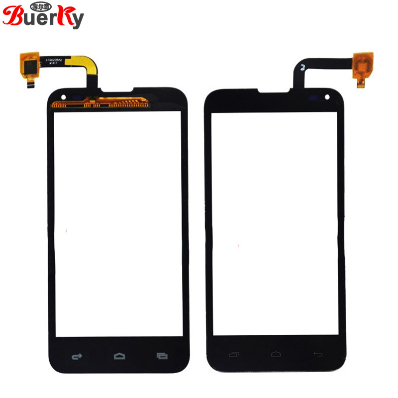 BKparts 5pcs Touch screen For Fly IQ4415 Era style 3 Touchscreen front glass panel Digitizer Replacement free shipping