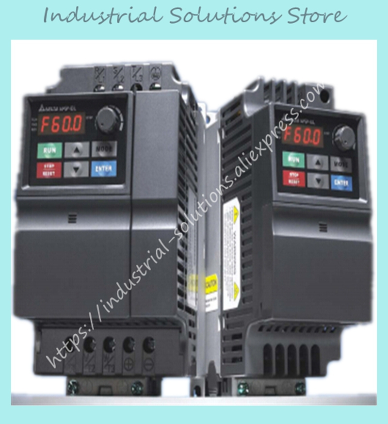 Input AC 3ph 380V Output AC 3ph El Delta Inverter Series VFD007EL43A 0~480V 2.5A 0.1~600Hz 0.75KW 1HP New Original input 3 ph 380v output 3 ph inverter fr d740 5 5k cht 380 480v 12a 5 5kw 0 2 400hz new original