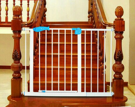 Baby Gates U0026 Doorways Safety Stair Fence Door Bar Iron+ABS 69*80 CM Whole  Sale Hot Portable Foldable Convenient 2017 CE New  In Gates U0026 Doorways From  Mother ...