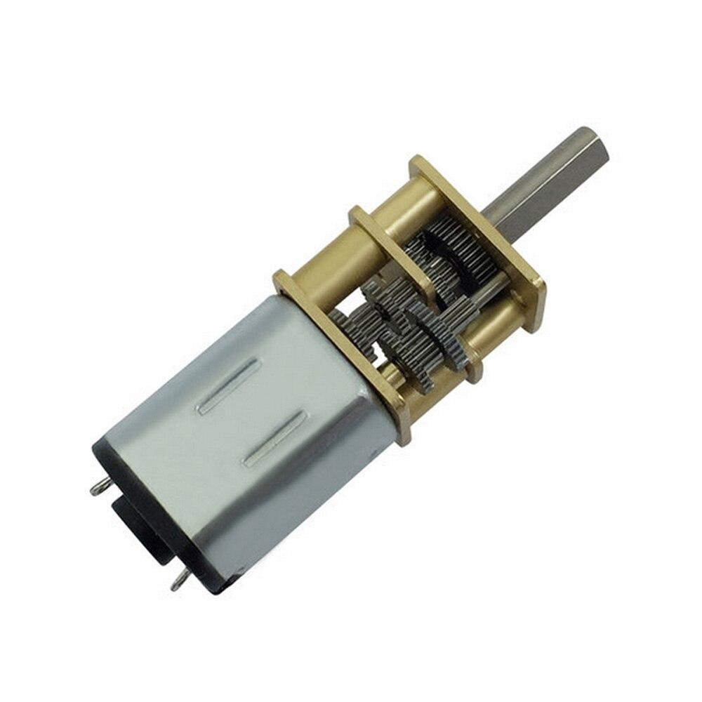 Bringsmart Wholesale N20-1000 3v 6v Mini Gear Motor Reduction Ratio 1000 Dc Brush Gear Electric Motors For Toys Electronic Lock nobsound dual ak4495 usb dac audio decoder dsd xmos xu208 digital to analog converter