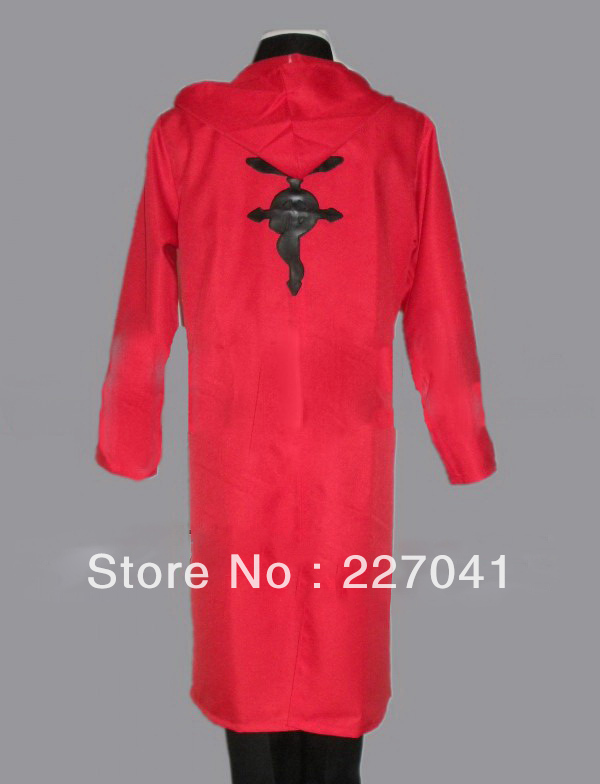 FullMetal Alchemist Edward Elric cosplay costume Custome Made Free Shipping