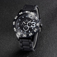 Últimas V6-0222 lujo ocio reloj de los hombres, domineering hombre de moda reloj de pulsera, reloj de cuarzo de negocios, marcas de relojes