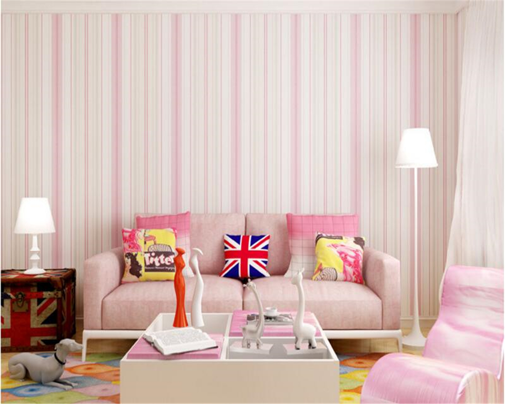 beibehang 3d wallpaper Beautiful Mediterranean wallpaper nonwovens bedroom blue pink living room background wall papel de parede beibehang mediterranean blue striped 3d wallpaper non woven bedroom pink living room background wall papel de parede wall paper