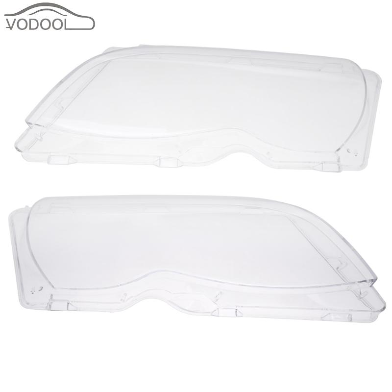 2Pcs 4-Door Left Right Headlight Lens Headlamp Lens Cover for BMW E46 318i 320i 323i 325i 328i 02-05 Prevent Yellowing Fading syma x5hw fpv rc quadcopter rc drone with wifi camera 2 4g 6 axis vs syma x5sw upgrade drones rc helicopter toys with 5 battery