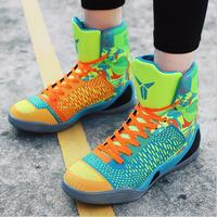 Basketball Shoes High Top Men S Basketball Sneakers All Star Boots Student Breathable Non Slip Wear