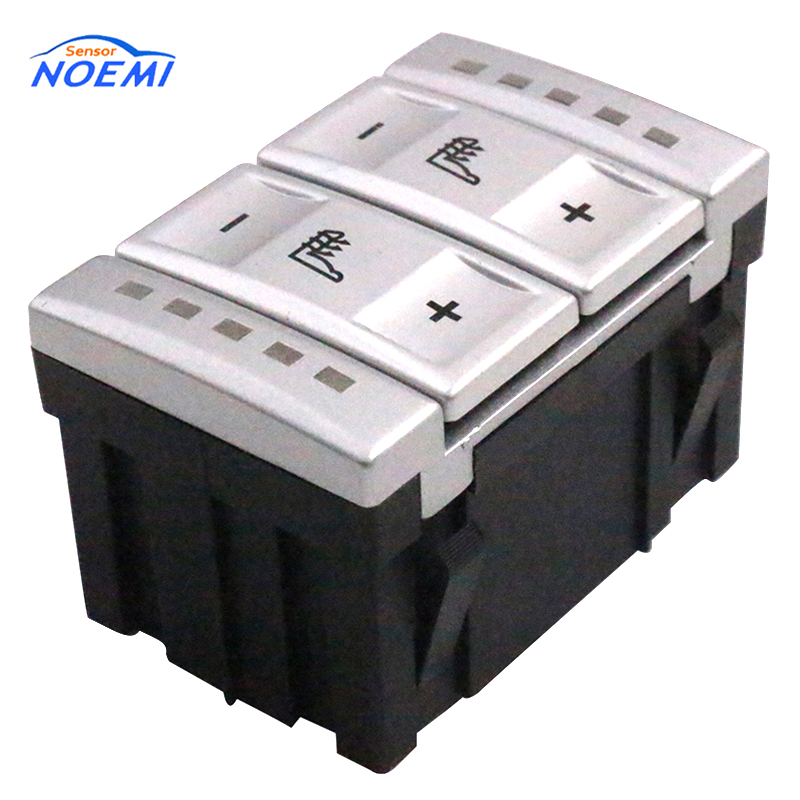 YAOPEI OEM 6M2T-19K314-AC 6M2T19K314AC Silver Seat Heating Button Control Switch For Ford mondeo MK4