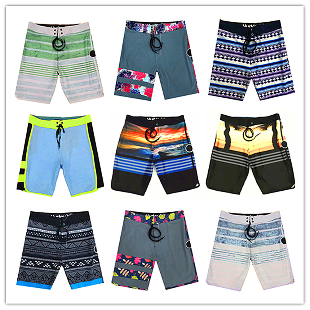 Spring Summer 2019 Classic Brand Fashion Phantom Men Beach   Board     Shorts   Swimwear Superflex Elastic Adults Boardshorts Quick Dry