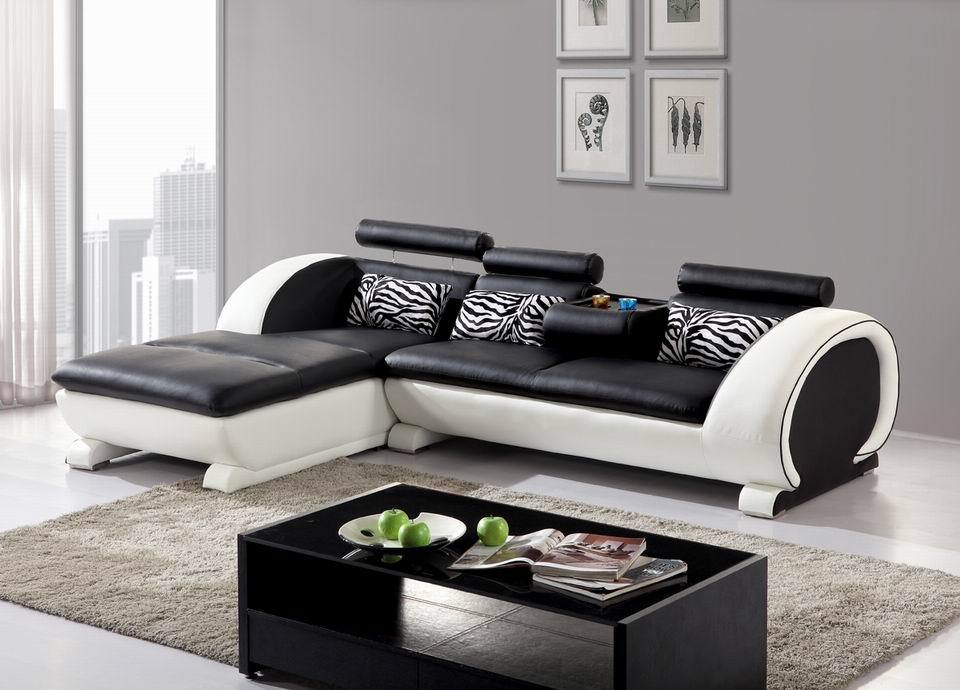 Delightful 14 L Shaped Leather Sofa | Carehouse.info